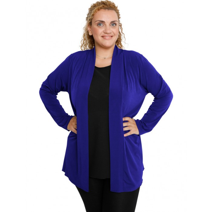 B19-140 Classic cardigan - Royal Blue
