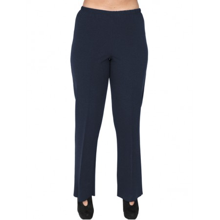 B19-152 Fitted pants - Navy Blue