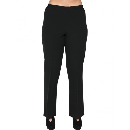 B19-752 Fitted trousers - Black