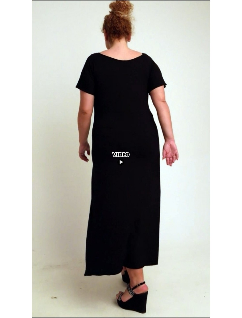A20-223FK Long dress - Bordeaux