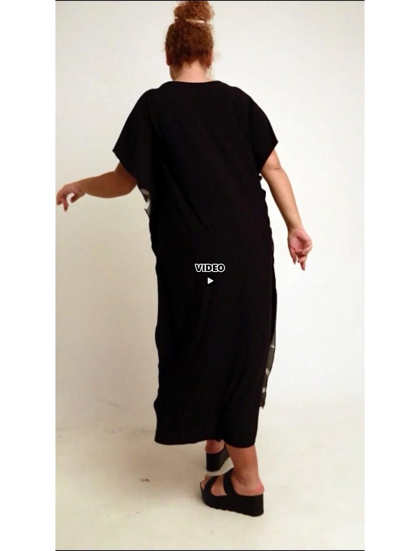 A20-4533 Bat Sleeve Dress