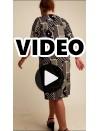A20-4600V Dress with pattern