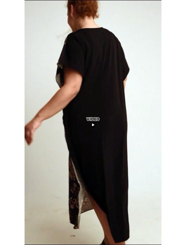 A20-4733 Bat Sleeve Dress