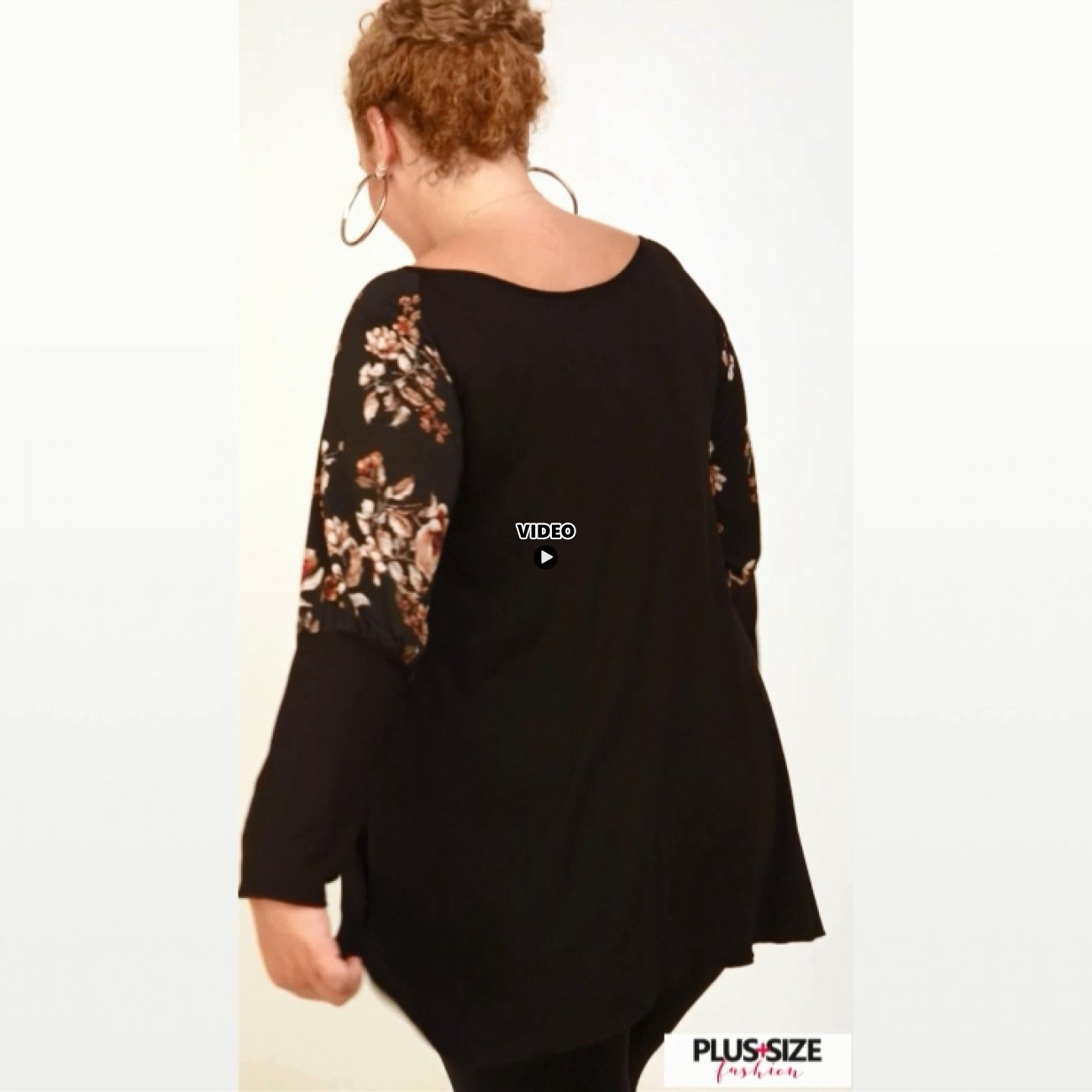 B20-4761 Evaze Blouse with pinch-tie design