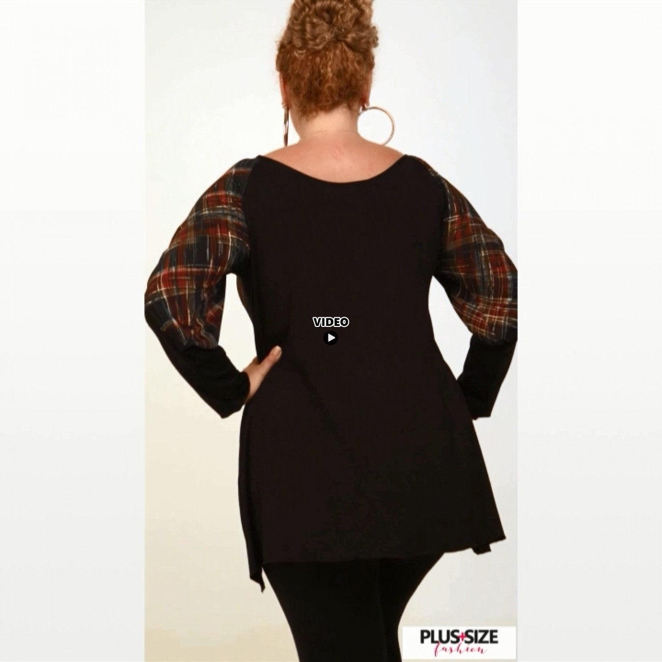B20-5961 Evaze Blouse with pinch-tie design