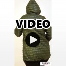 B20-6629 Jacket with hood - Olive Green