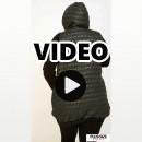 B20-6629A Sleeveless Jacket with hood - Olive Green