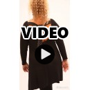 B21-495 Evaze blouse