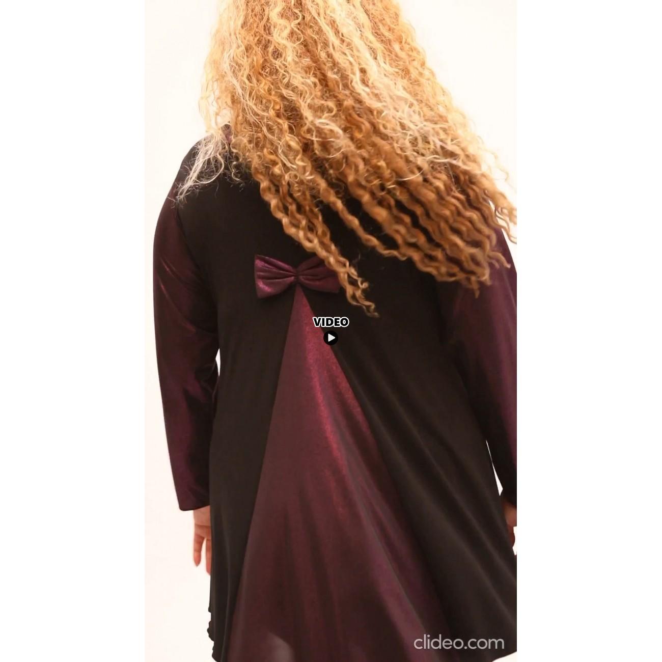 B21-6089 Evaze blouse - Lilac
