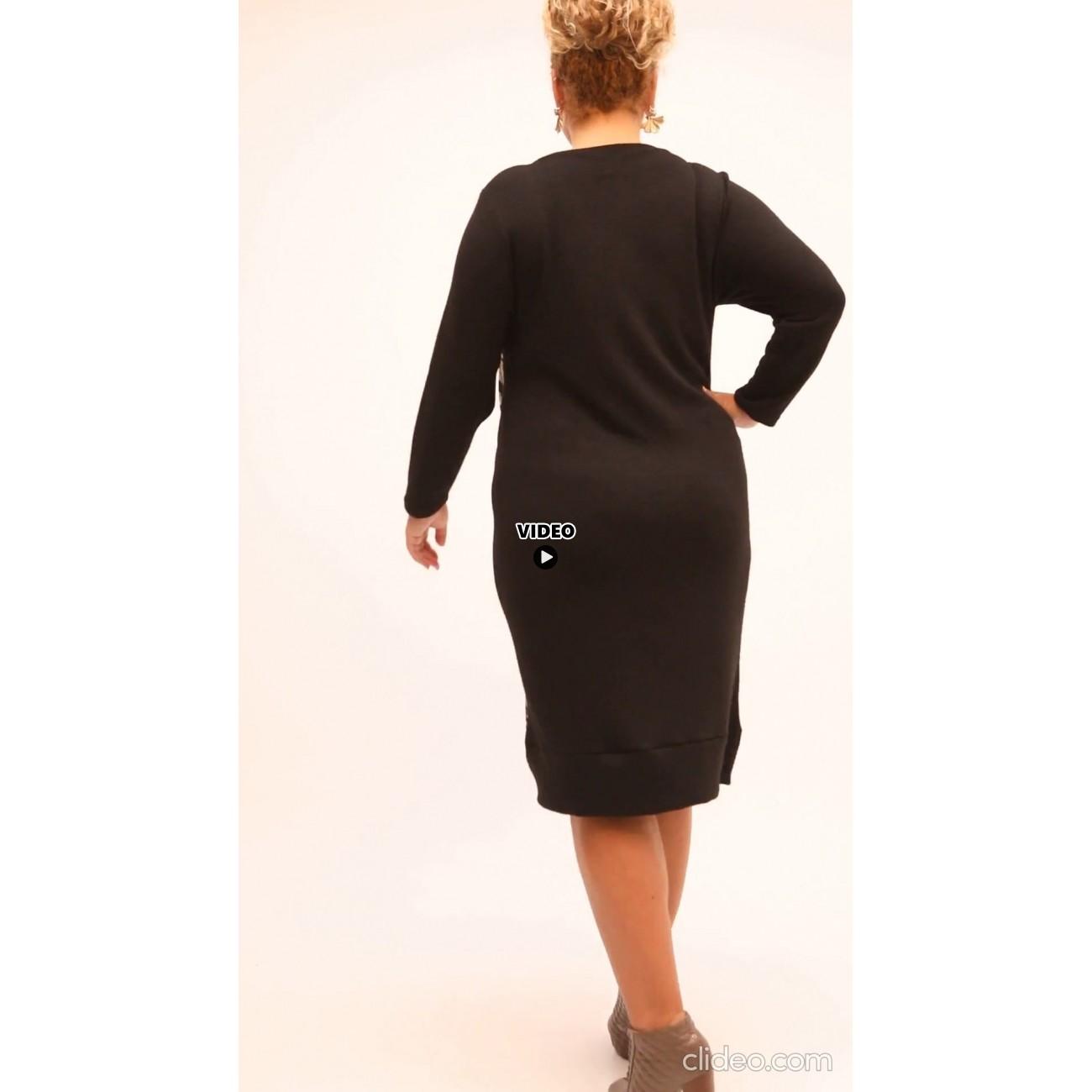 B21-6400U Classic dress with pattern