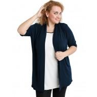 A20-140 Classic cardigan - Navy Blue