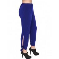 A20-151 Fitted capri pants - Royal Blue