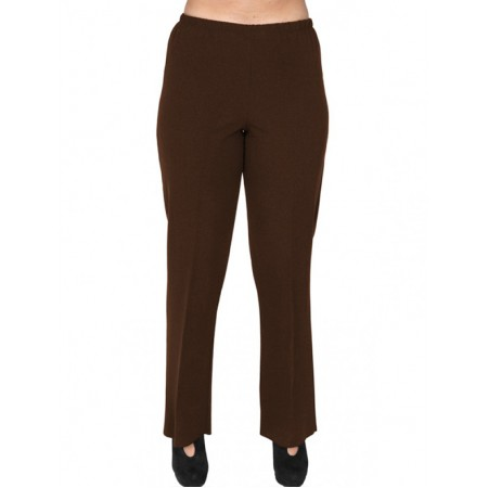 A20-152 Fitted pants - Brown