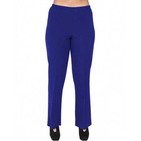 A20-152 Fitted pants - Royal Blue