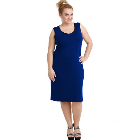A20-201V Classic dress top - Royal Blue
