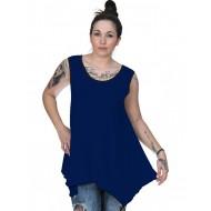 A20-228B Alpha blouse top - Royal Blue