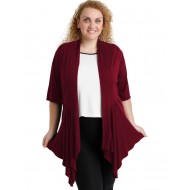 A20-241 Alpha cardigan - Bordeaux