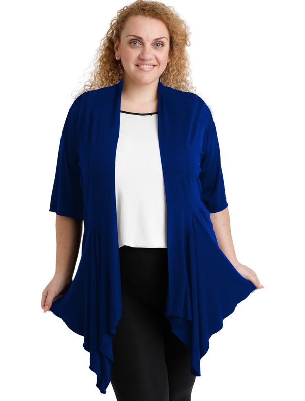 A20-241 Alpha cardigan - Royal Blue