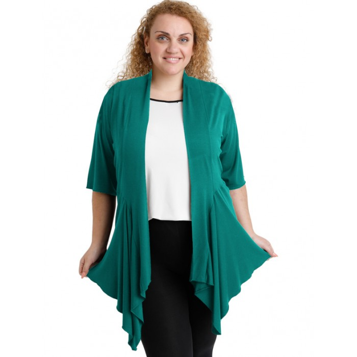 A20-241 Alpha cardigan - Turquoise