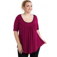 A20-244 Evaze blouse - Fuchsia