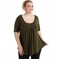 A20-244 Evaze blouse - Khaki