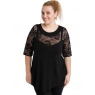 A20-247D Alfa blouse - Black
