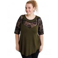 A20-247D Alfa blouse - Khaki