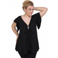 A20-255 Alpha blouse - Black
