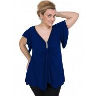 A20-255 Alpha blouse - Royal Blue