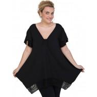 A20-255D Alpha blouse - Black