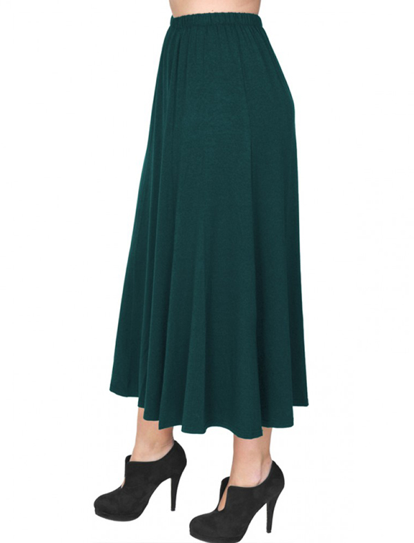 A20-260 Fitted closh skirt - Petrol