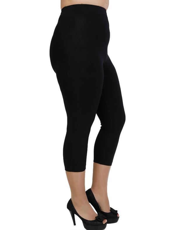 A20-263B Capri leggings - Black