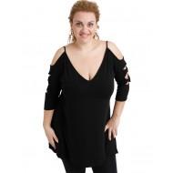 A20-281 Evaze blouse - Black