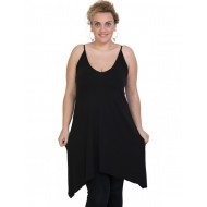 A20-282B Evaze blousedress - Black