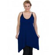 A20-282B Evaze blousedress - Royal Blue