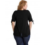 A20-287 Classic blouse - Black