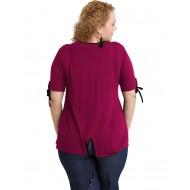 A20-287 Classic blouse - Fuchsia