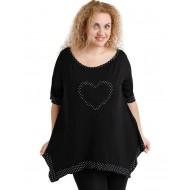 A20-459 Alpha blouse - Black