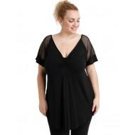 A20-5579 Classic blouse - Black