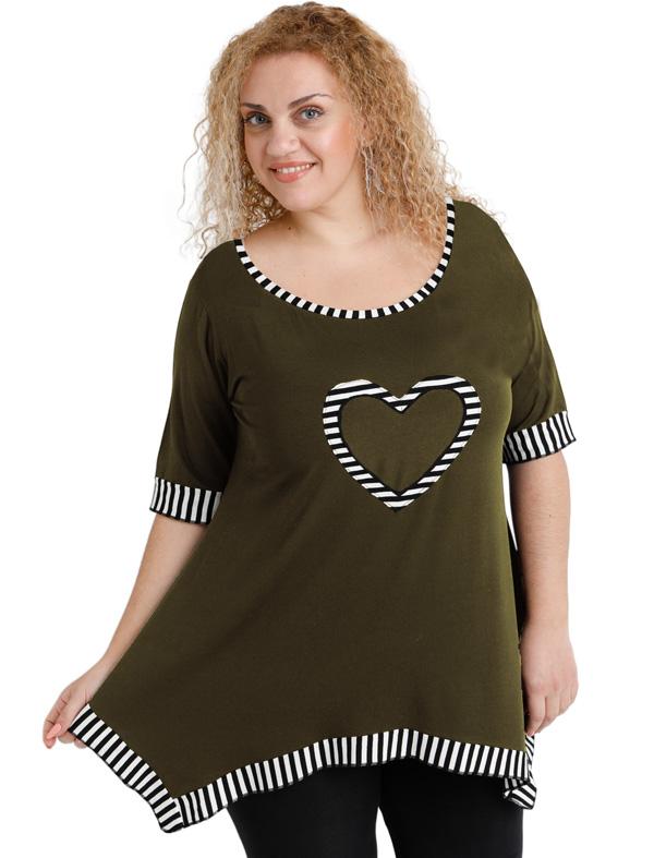 A20-559 Alpha blouse - Khaki