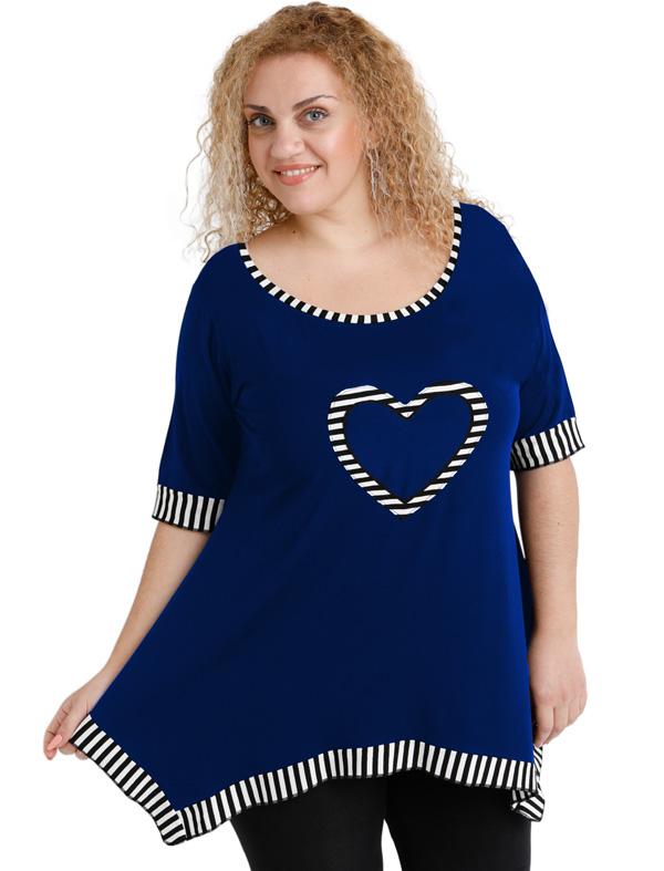 A20-559 Alpha blouse - Royal Blue