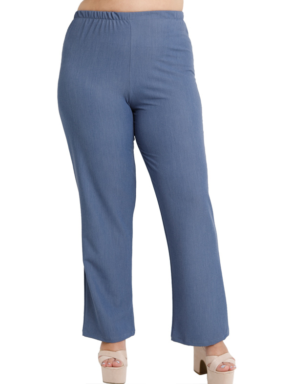 A20-652 Fitted trousers - Light blue