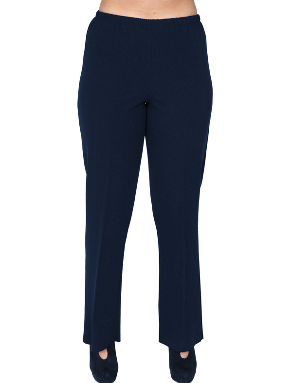 A20-752 Fitted pants - Navy Blue