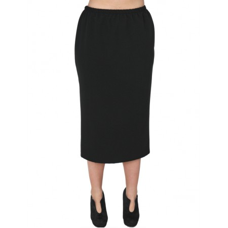 A20-755 Fitted skirt - Black