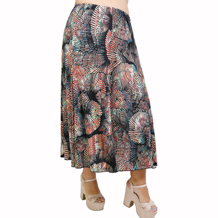 A21-5360 Jersey Closh Skirt with elastic band