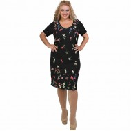 A21-6400V Jersey Dress in classic line