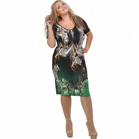 A21-6500V Jersey Dress in classic line