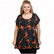 A21-7309 Alpha Blouse with pattern