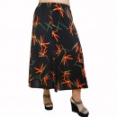 A21-7360 Jersey Closh Skirt with elastic band