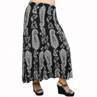 A21-7460 Jersey Closh Skirt with elastic band
